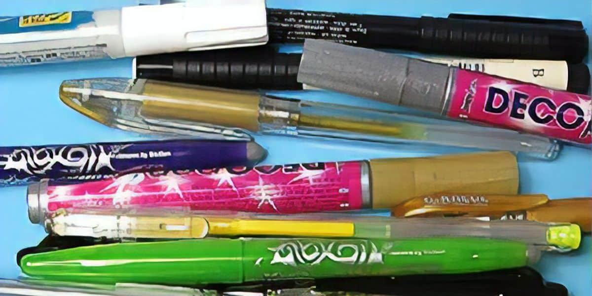 Stifte richtig aufbewahren