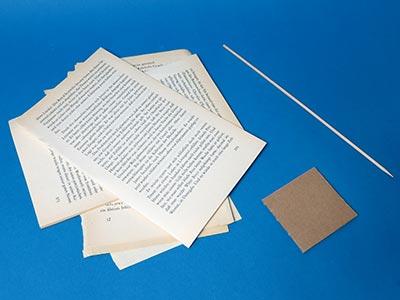 Tannenbaum Basteln Aus Buchseiten Kreativraum24