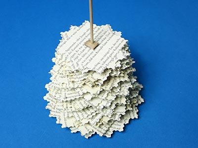 Bastelideen Tannenbaum.Tannenbaum Basteln Aus Buchseiten Kreativraum24