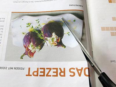 Magazine - Bilder ausschneiden