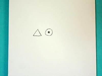 Lustigen Vogel zeichnen