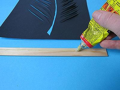 DIY Deko Wandbild Schritt 10