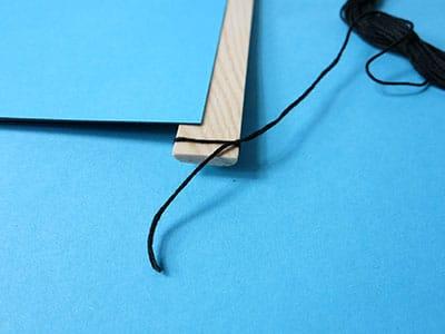 DIY Deko Wandbild Schritt 11