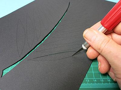 DIY Deko Wandbild Schritt 4