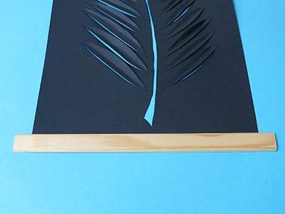 DIY Deko Wandbild Schritt 7
