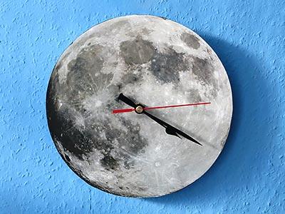 Uhr basteln
