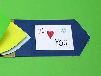 Valentin Karte basteln