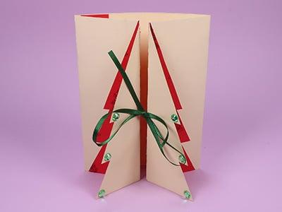 Weihnachskarte basteln