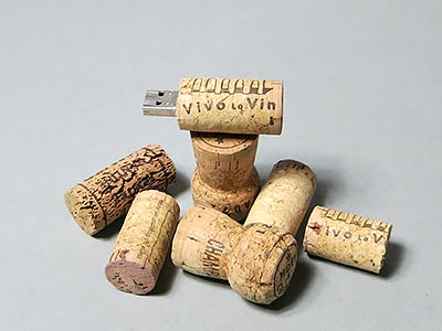 Weinkorken USB-Stick